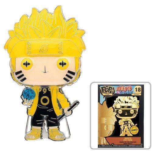 Naruto: Naruto Uzumaki Sixth Path Large Enamel Pop! Pin Sale 4