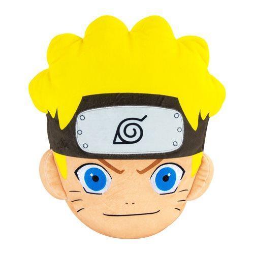 Club Mocchi Mocchi Naruto Uzumaki Face Mega 15″ Plush Anime Plushies 4