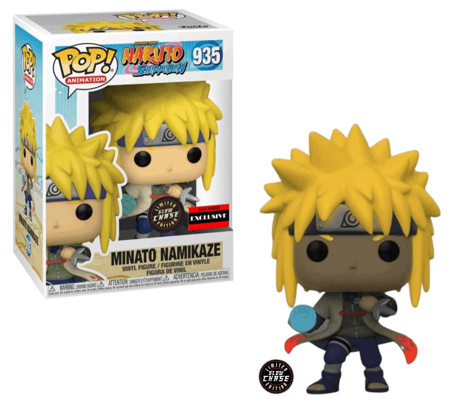Naruto: Shippuden Minato Namikaze Rasengan Pop! Vinyl Figure (Chase Version) Figures 4