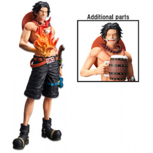 One Piece Portgas D. Ace Grandista Nero Figure Figures