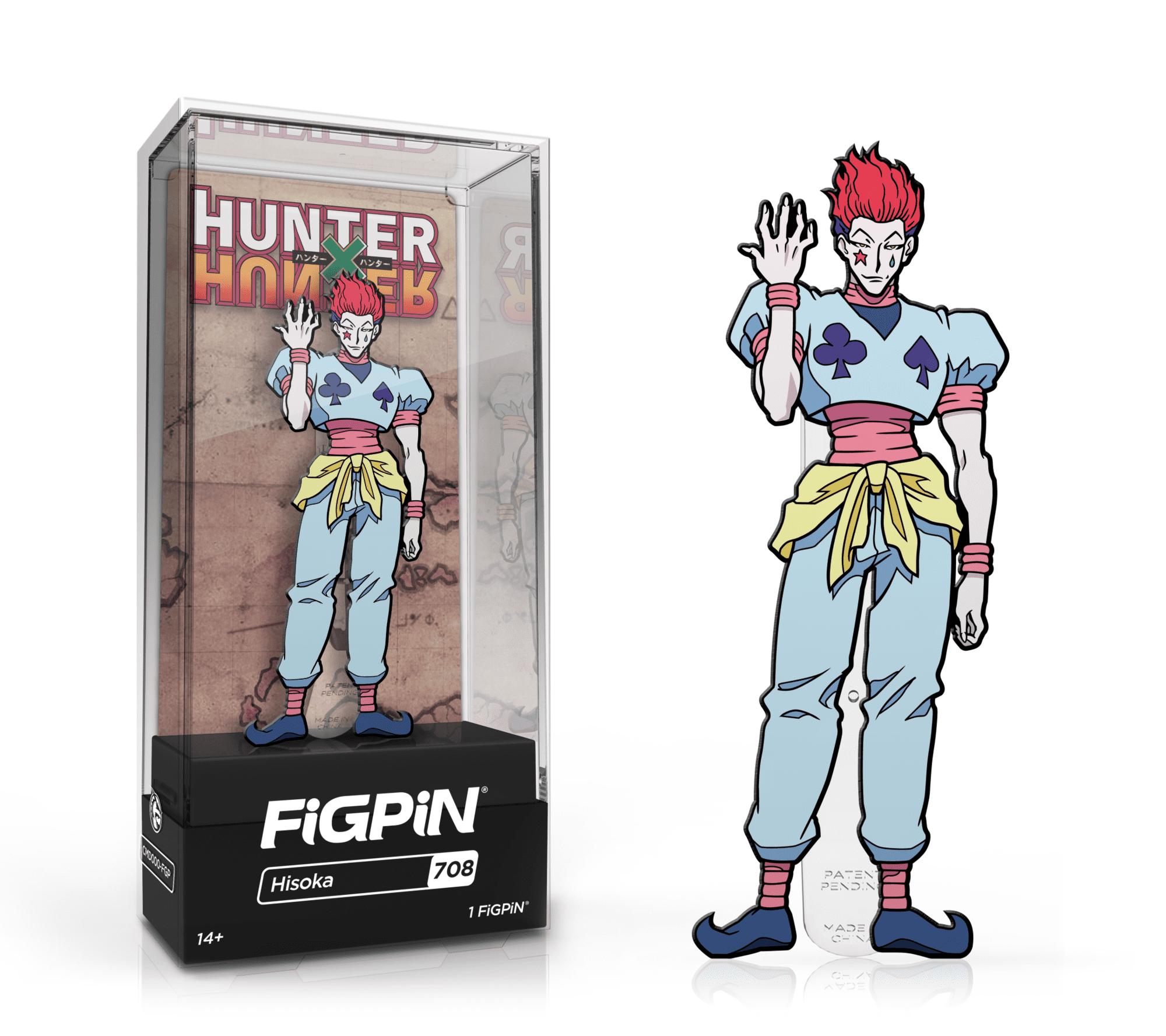 Hunter X Hunter Hisoka Morrow FiGPiN Classic Enamel Pin Pins