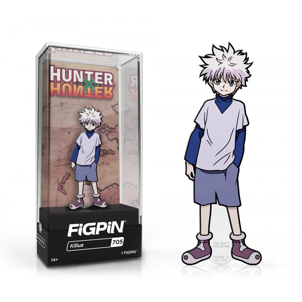 Hunter X Hunter Killua Zoldyck FiGPiN Classic Enamel Pin Pins 4